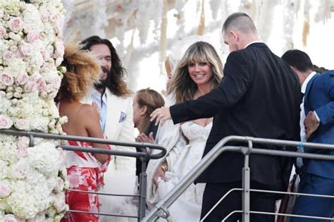 heidi klum tom kaulitz wedding  startattle