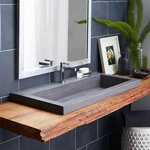 1000 idees a propos de comptoirs en granit sur pinterest With salle de bain design avec lavabo en granit