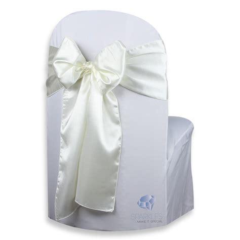 50 pcs satin chair cover bow sash 108 quot x8 quot wedding party