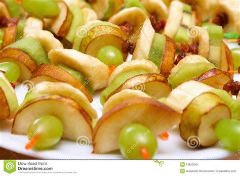 canape da canapés da fruta
