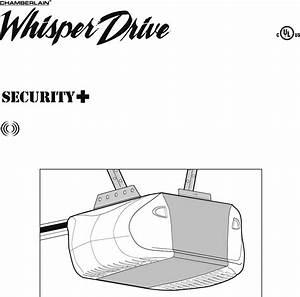 Chamberlain Garage Door Opener Wd962kd User Guide