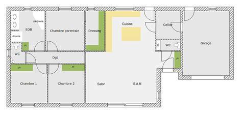 plan maison 150m2 4 chambres plan maison plain pied 96m2 73 messages page 2