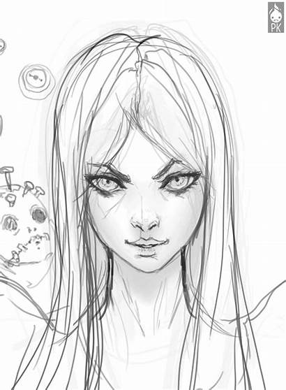 Drawing Alice Reference Face Sketch Tutorial Deviantart