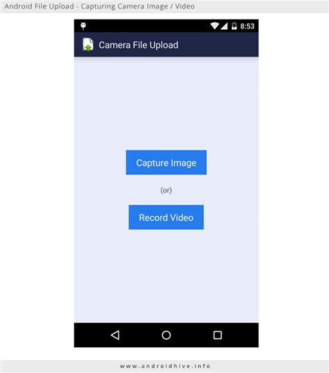 android file host image upload in androidhive