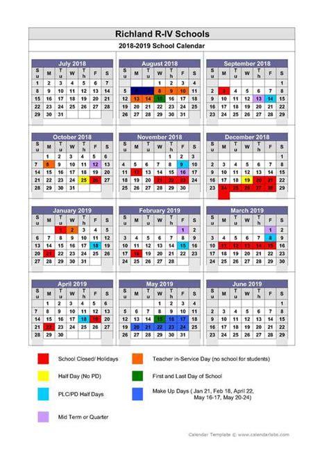richland iv school district calendar publicholidaysus