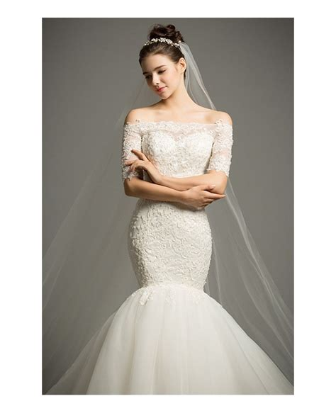 Dreamy Mermaid Offtheshoulder Chapel Train Tulle Wedding. Which Wedding Dress Style Is Right For Me. Cheap Wedding Dresses El Paso Tx. Ball Gown Wedding Dresses With Jackets. Wedding Dress Vintage Cheap. A Line Wedding Dresses Alfred Angelo. Wedding Dresses In Blue Color. Celebrity Wedding Dresses Prices. Champagne Wedding Dresses Short