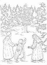 Narnia Susan Lucy Peter Chronicles Coloring Fun sketch template