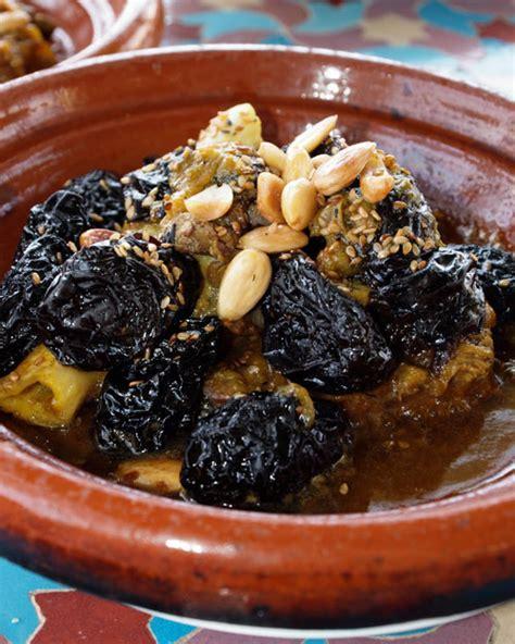 cuisine prune prunes and almonds tagine