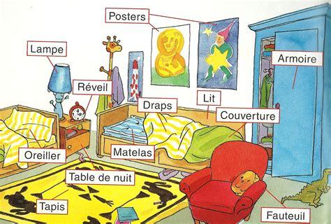 les chambres de la maison je m 39 amuse en français vocabulaire ma chambre