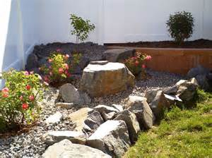 rock garden ideas outdoors