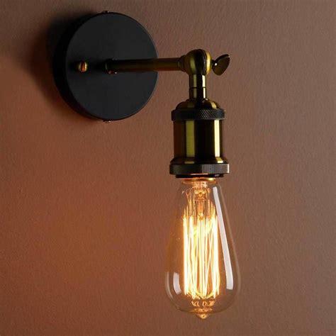 industrial style wall light bathroom ideas vintage