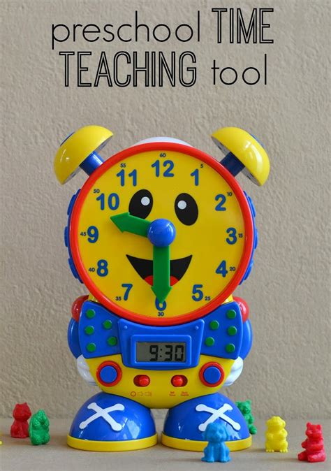 the best time teaching for telly the time 855 | preschool time tool bright