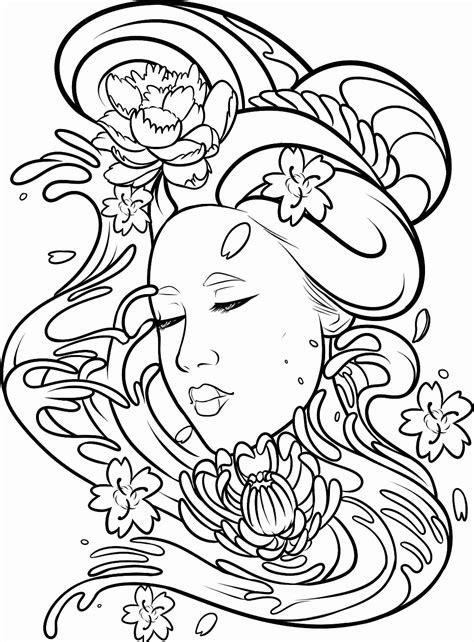 Geisha tat-Transparent Background by DawnieDA.deviantart.com on @DeviantArt