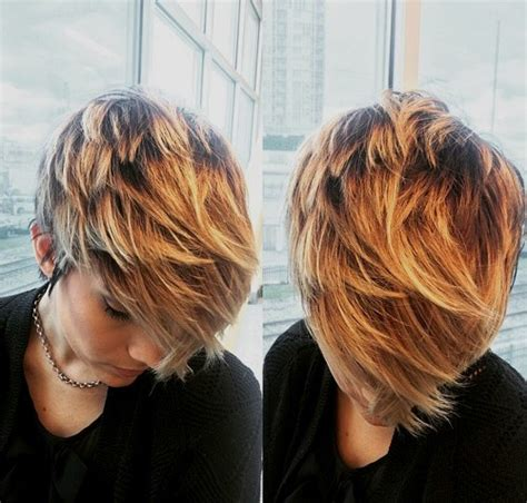 trendy balayage hairstyles  short hair styles weekly