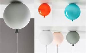 Suspension Chambre Enfant : lampe enfant ballon plafonnier chambre b b et enfant ~ Melissatoandfro.com Idées de Décoration