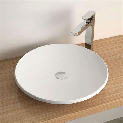 vasque 224 poser ronde 50 cm c 233 ramique aeka