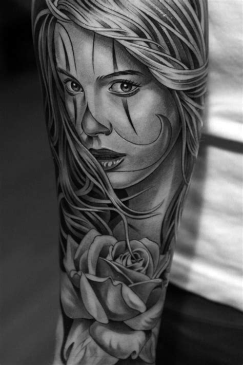 images about tattoos on Pinterest | Sleeve Google and Buddha tattoos | Grey tattoo, Black, grey