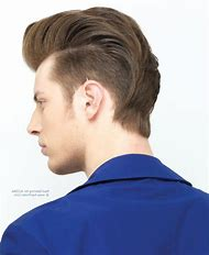New Hairstyle for Men Back Side