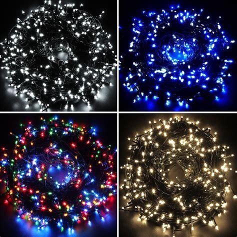 waterproof fairy lights 100 200 300 400 500 led outdoor