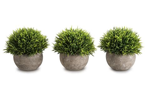 Opps Mini Artificial Plants Plastic Fake Green Grass