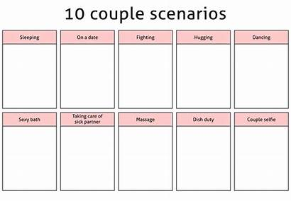Meme Couple Scenarios Deviantart Drawing Memes Challenge