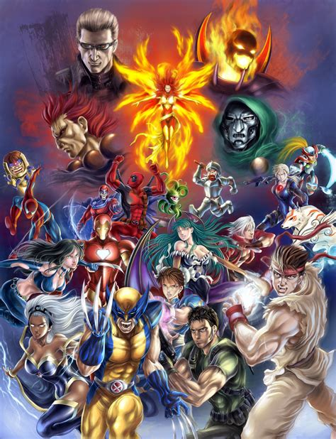 Marvel Vs Capcom 3 By Spaceweaver On Deviantart