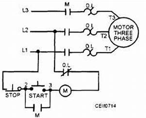 nc overload contacts on three wire start stop station With motor starter wiring diagram start stop how to wire a motor starter