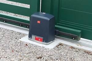 Fondation Pour Portail Coulissant : artois equipement automatismes de portail nord pas de calais ~ Dailycaller-alerts.com Idées de Décoration