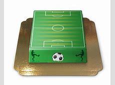 FußballfeldTorte Genießbare Geschenkidee für Männer