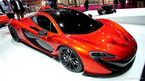 McLaren P1 Concept - Exterior Walkaround - 2012 Paris Auto ...