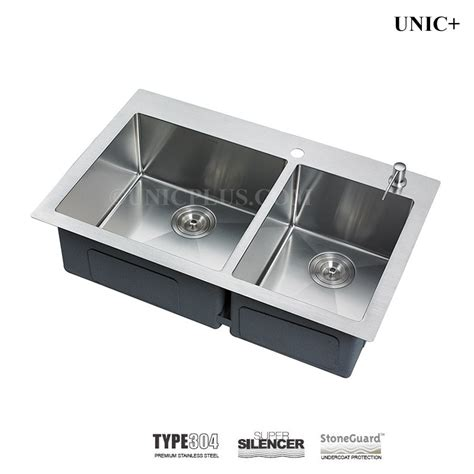 top mount kitchen sinks stainless steel 33 inch small radius stainless steel top mount kitchen 9485