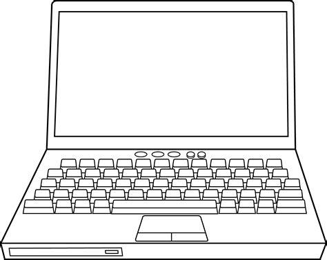clipart laptop computer  clip art