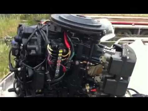 Johnson Outboard Wiring Diagram 50 Hp Pulse Pack by 1987 Johnson 150 V6 Vro Outboard Trim Tilt