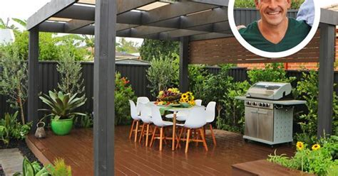durie designs before after jamie durie transforms a bare backyard homes to love