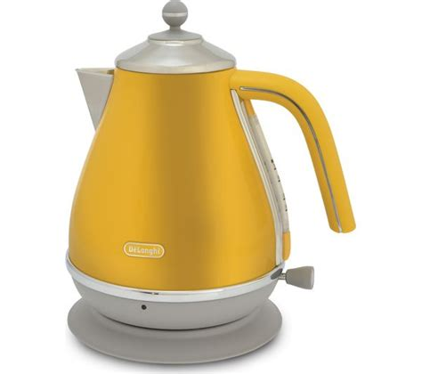delonghi toaster and kettle buy delonghi icona capitals kboc3001 y jug kettle yellow