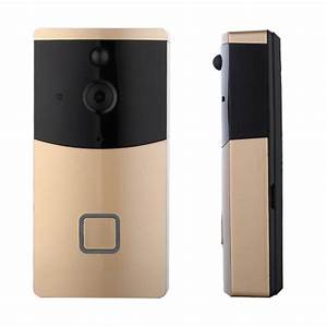 Smart Home Türklingel : wasserdichte drahtlose wifi smart home video t rklingel golden ~ Yasmunasinghe.com Haus und Dekorationen