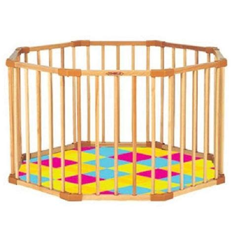 parc octogonal avec fond pliant tapis confort achat vente parc b 233 b 233 parc octogonal tapis