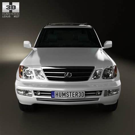 lexus models 2003 lexus lx 2003 3d model humster3d