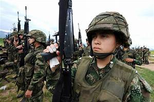 7 Latin American Countries That Allow Women Soldiers Into ...