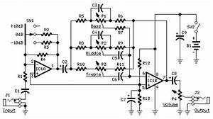 guitar control circuit diagram audio amplifier schematic With guitar control