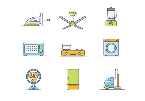 Household Objects Icon Pack