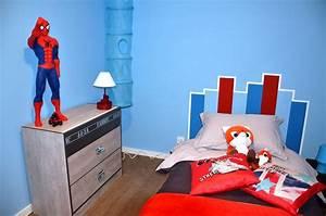 chambre garcon bleu et rouge atlubcom With chambre garcon bleu et rouge