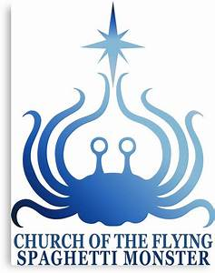 Church of the Flying Spaghetti Monster logo by pastafarian ...