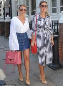 sam faiers slips  striped shirt dress   heads