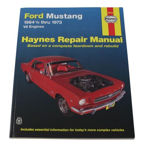 haynes manual mustang