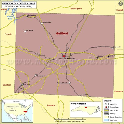 Davidson County Nc Zip Code Map