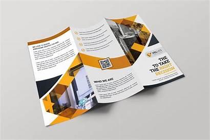 Brochure Professional Fold Tri Template Eps Brochures