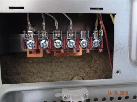 oven wiring connection diynot forums