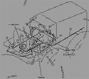 232-06-51790 Harness  1kw Alternator Wiring