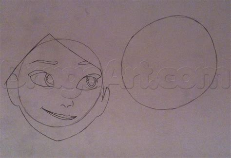 How To Draw Anna And Elsa From Frozen Step By Step